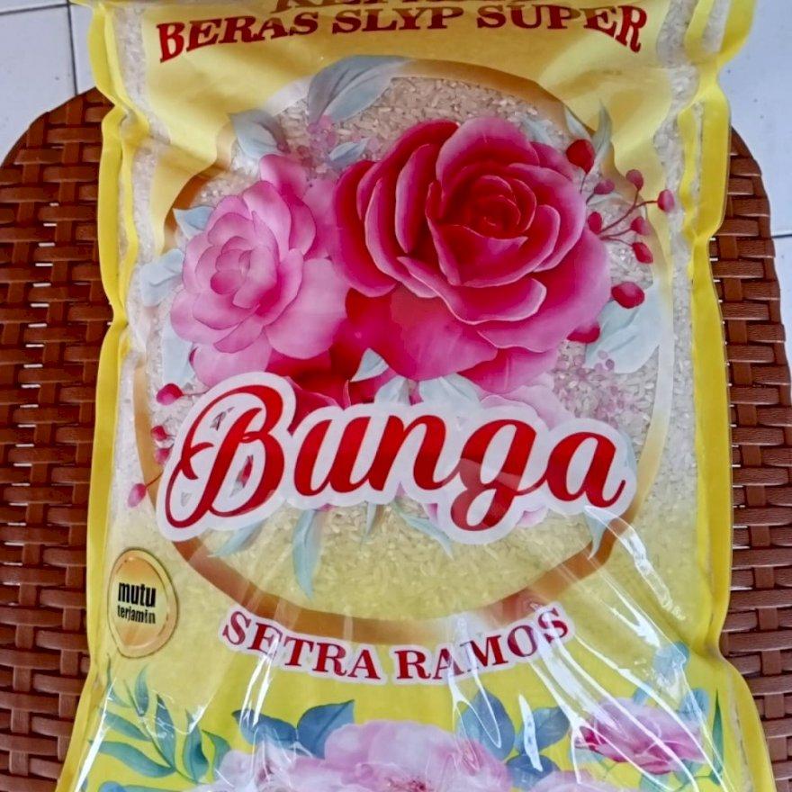 beras premium cap bunga