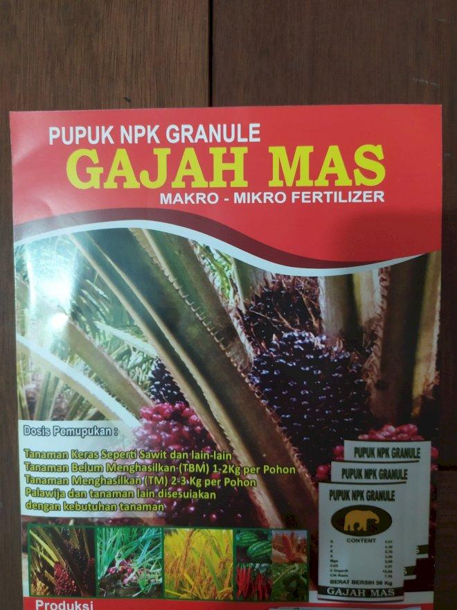 Pupuk NPK granular - Gajah Mas